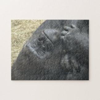 Sleeping Gorilla Jigsaw Puzzle