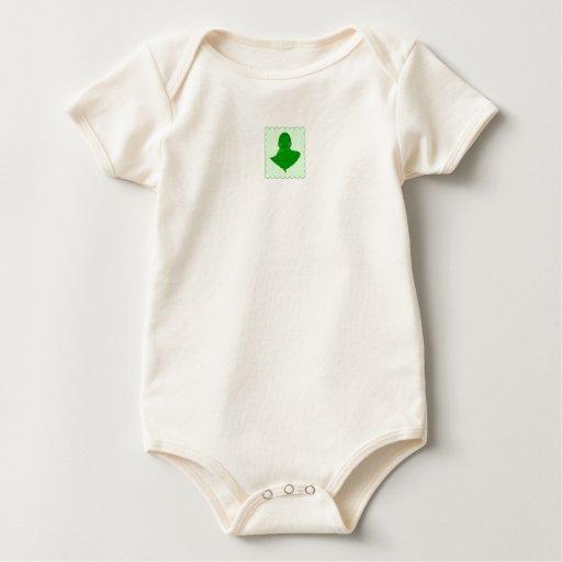 Sleeping Green Turtle Baby Bodysuit