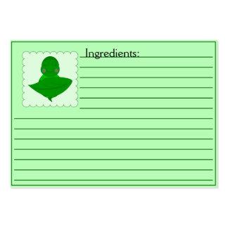 Sleeping Green Turtle Business Card Template