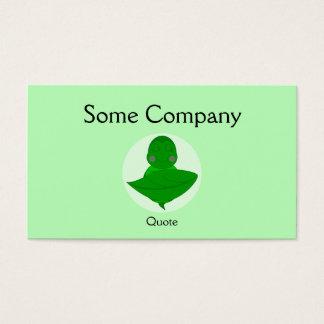 Sleeping Green Turtle Business Card