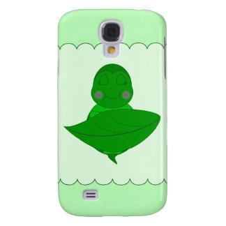 Sleeping Green Turtle Galaxy S4 Cases