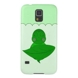Sleeping Green Turtle Galaxy S5 Cases