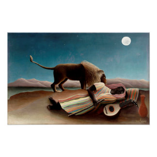 Sleeping Gypsie Poster