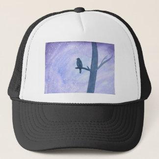 Sleeping Hawk Trucker Hat