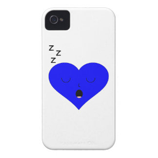 Sleeping Heart Face iPhone 4 Cover