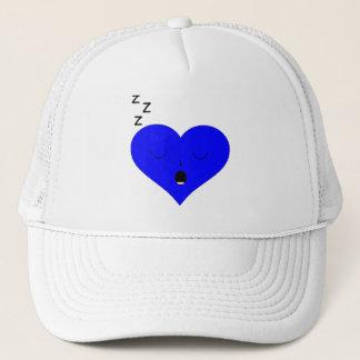 Sleeping Heart Face Trucker Hat