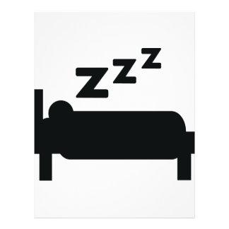 sleeping icon flyer