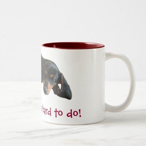 Sleeping In Coffee Mug