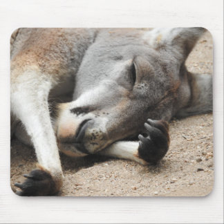 Sleeping Kangaroo Mousepad