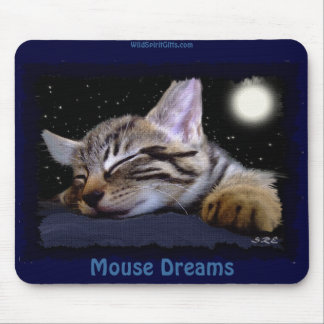 SLEEPING KITTEN Cute Animal-lover Mousepad