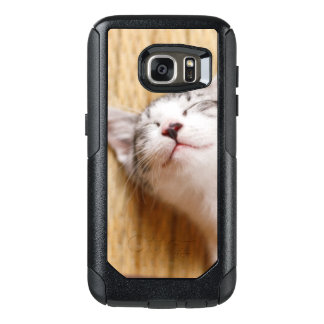 Sleeping Kitten On Tatami Mat OtterBox Samsung Galaxy S7 Case