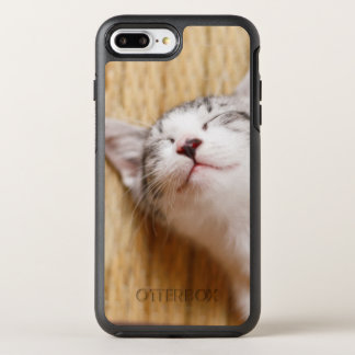 Sleeping Kitten On Tatami Mat OtterBox Symmetry iPhone 7 Plus Case