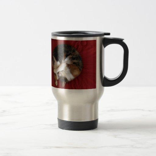Sleeping Kittty Travel Mug