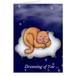 Sleeping Kitty Card