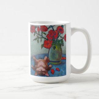 Sleeping kitty coffee mug