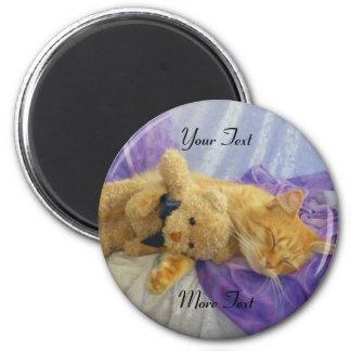 Sleeping Kitty Magnet