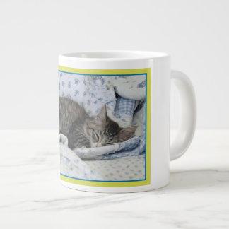 Sleeping Kltty Large Coffee Mug