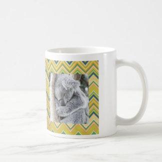 sleeping koala baby classic white coffee mug