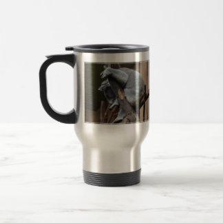 Sleeping Koala Bear 15 Oz Stainless Steel Travel Mug