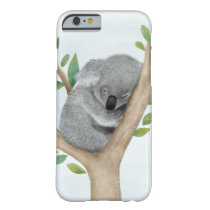 Sleeping Koala Bear iPhone 6 case