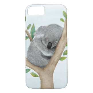 Sleeping Koala Bear iPhone 7 case