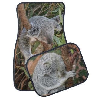 Sleeping Koala Bears Car Mat Set