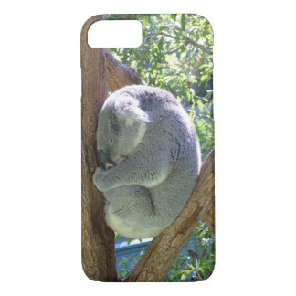 Sleeping Koala iPhone 7 Case