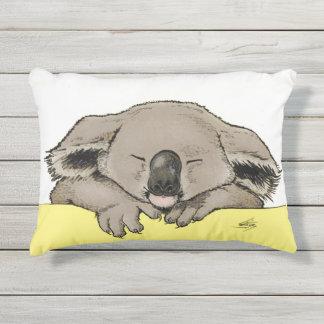 Sleeping Koala Outdoor Pillow