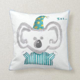 """""""Sleeping koala"""" throw pillow"""
