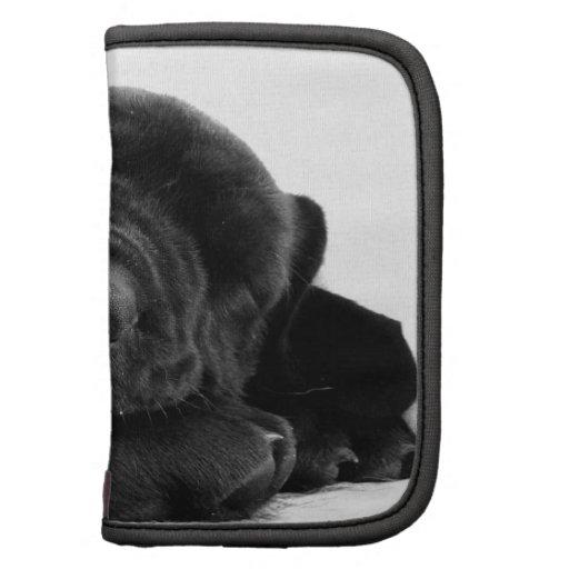 Sleeping Lab Puppy Wallet Folio Folio Planner