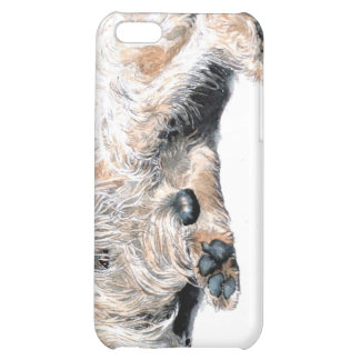 Sleeping Labradoodle iPhone 5C Case