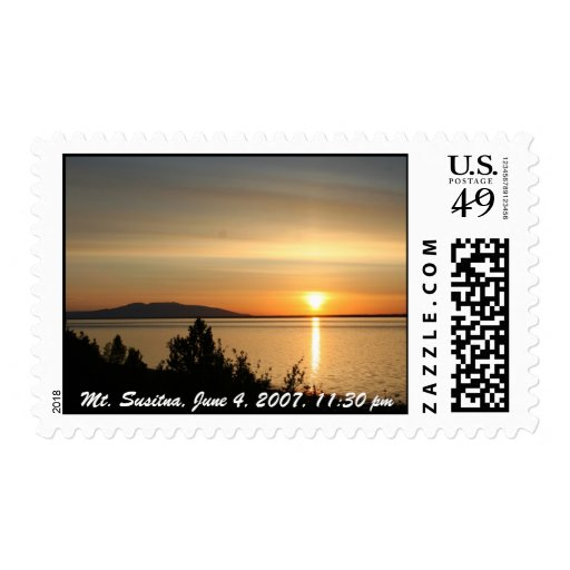 Sleeping Lady/Mt.Susitna Postage Stamps