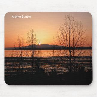 Sleeping Lady Sunset - Anchorage, Alaska Mouse Pad