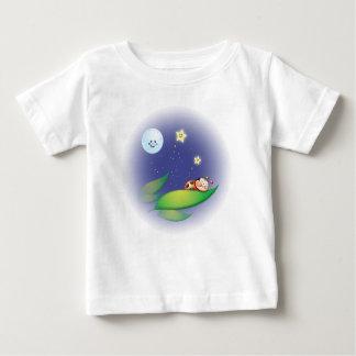 Sleeping Ladybug Baby T-Shirt