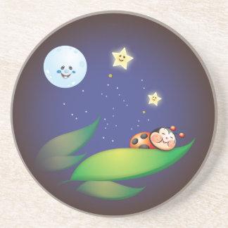 Sleeping Ladybug Coaster