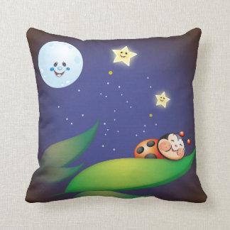 Sleeping Ladybug Pillows