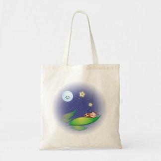 Sleeping Ladybug Tote Bag