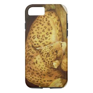 Sleeping Leopard, 1777 (enamel on biscuit iPhone 7 Case