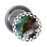 Sleeping Leopard Button