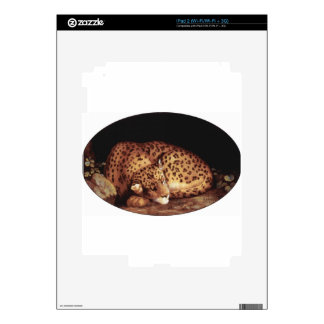 Sleeping Leopard by George Stubbs Skin For The iPad 2