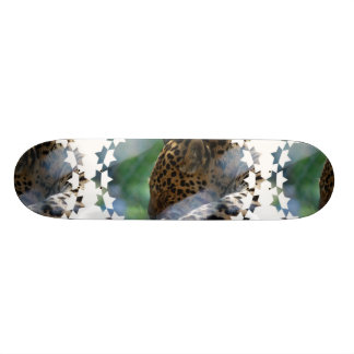 Sleeping Leopard Skateboard