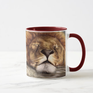 Sleeping Lion Mug