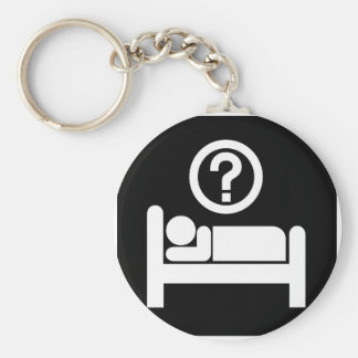 Sleeping lover! keychains