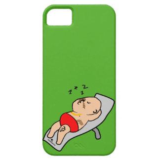 Sleeping man iphone 5 case