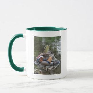 Sleeping Mandarin Ducks Mug