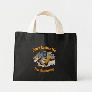 Sleeping Mini Tote Bag