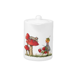 Sleeping Mouse, Toadstool, Child with Poppies