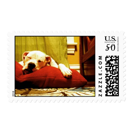 Sleeping Nelson Stamp