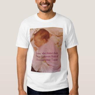 Sleeping Newborn Girl Tee Shirt