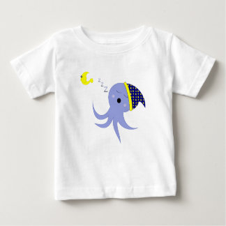 Sleeping Octopus Baby T-Shirt